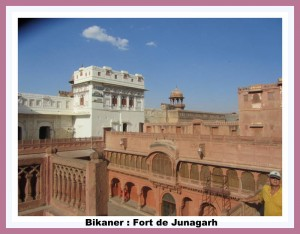 Bikaner- fort de junagarh