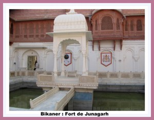 Bikner- fort de Junagarh