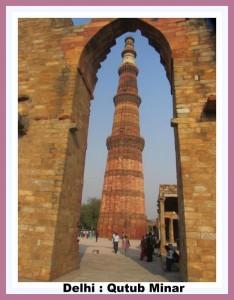 DELHI qutub minar delhi