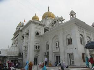 Delli temple sikh à Delhi