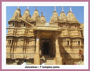 Jaisalmer-7 temples jains