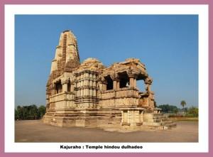 -Khajuraho_Dulhadeo temple hindou