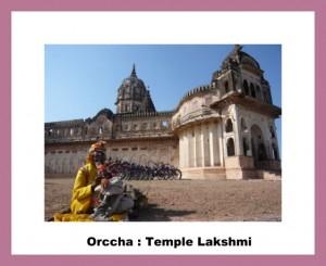 Orccha temple Lakshmi Ama