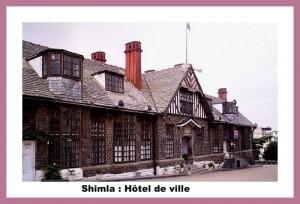Shimla hotel de ville