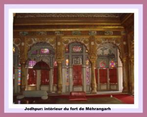 jodhpur interieur de merangarh