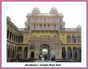 mandawa 25 kms le temple rani sati de junjhunu