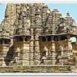 Kajuraho  temple devi jadadambi - Copie